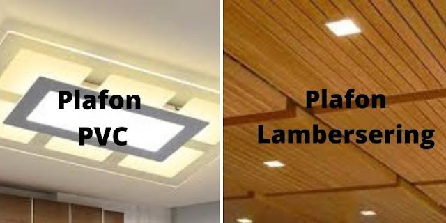 plafon pvc vs lambersering