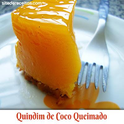 Quindim de Coco Queimado
