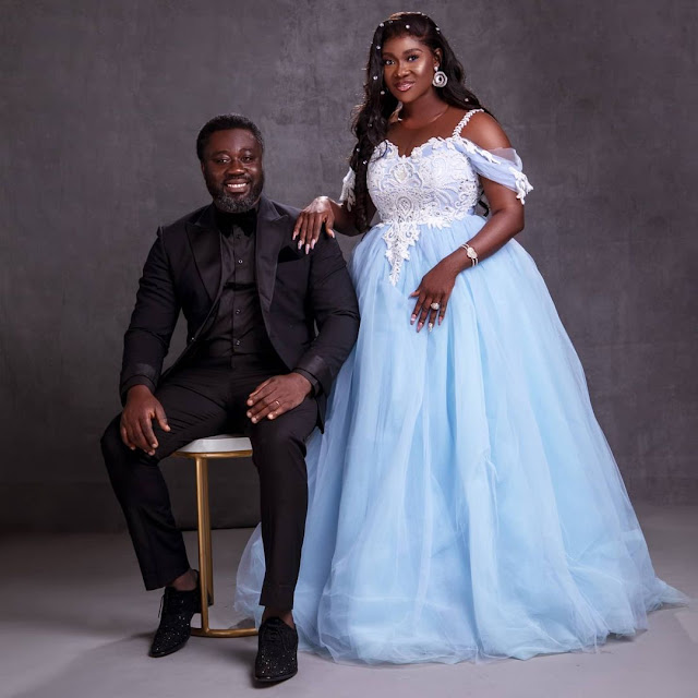 10 years of grace and forgiveness – Mercy Johnson says as she and her husband celebrates their 10th wedding anniversary (photos)