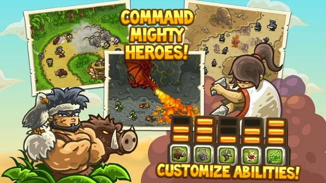 Jogo para Android Kingdom Rush and Kingdom Rush Frontiers