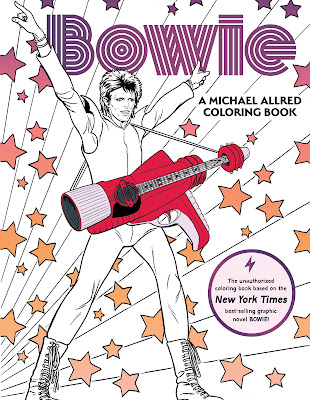 Insight Editions BOWIE A Michael Allred Coloring Book