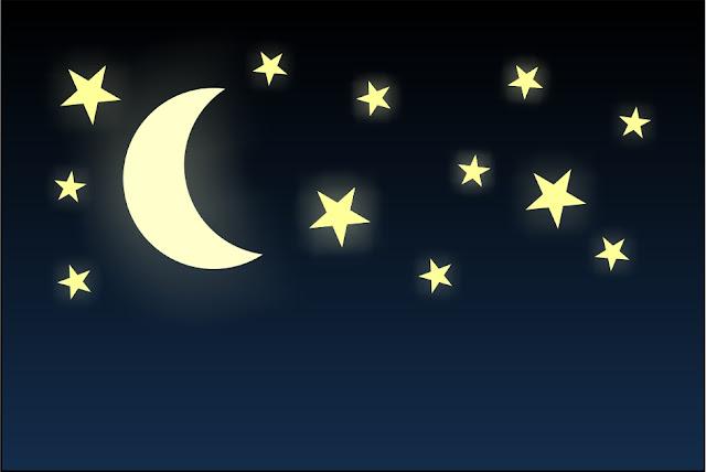 melihat bintang di langit