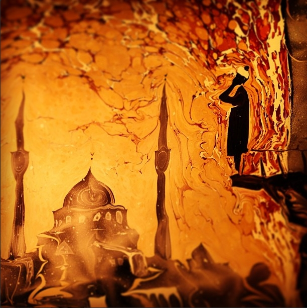11-Garip-AY-The-Art-of-Ebru-with-Painting-on-Water-www-designstack-co