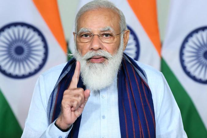 PM मोदी ने आज भारत के स्वाधीनता संघर्ष में भाग लेने वाले बहादुरों को याद कर श्रधासुमन अर्पित किया