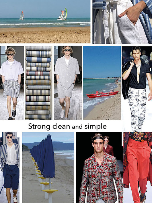 Strong clean and simple SS2019
