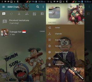 BBM Mod Doraemon GTA Style