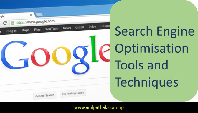 Search Engine Optimization Tools and Techniques , search engine keyword rank, anil pathak, pathaks blog