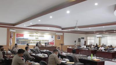 Wakapolda Pimpin Rapat Gelar Operasional Dan Kesiapan Pilkada 2020
