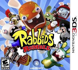Rabbid The Big Brawl 3DS CIA
