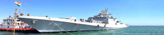 Indian Navy In The Western Pacific Is A Signal China Won't Miss