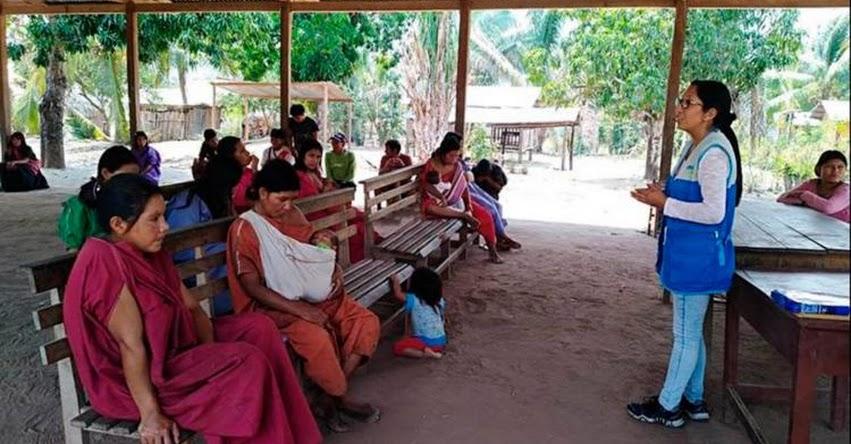 CUNA MÁS: Programa social atiende a 262 familias asháninkas del río Ene - www.cunamas.gob.pe