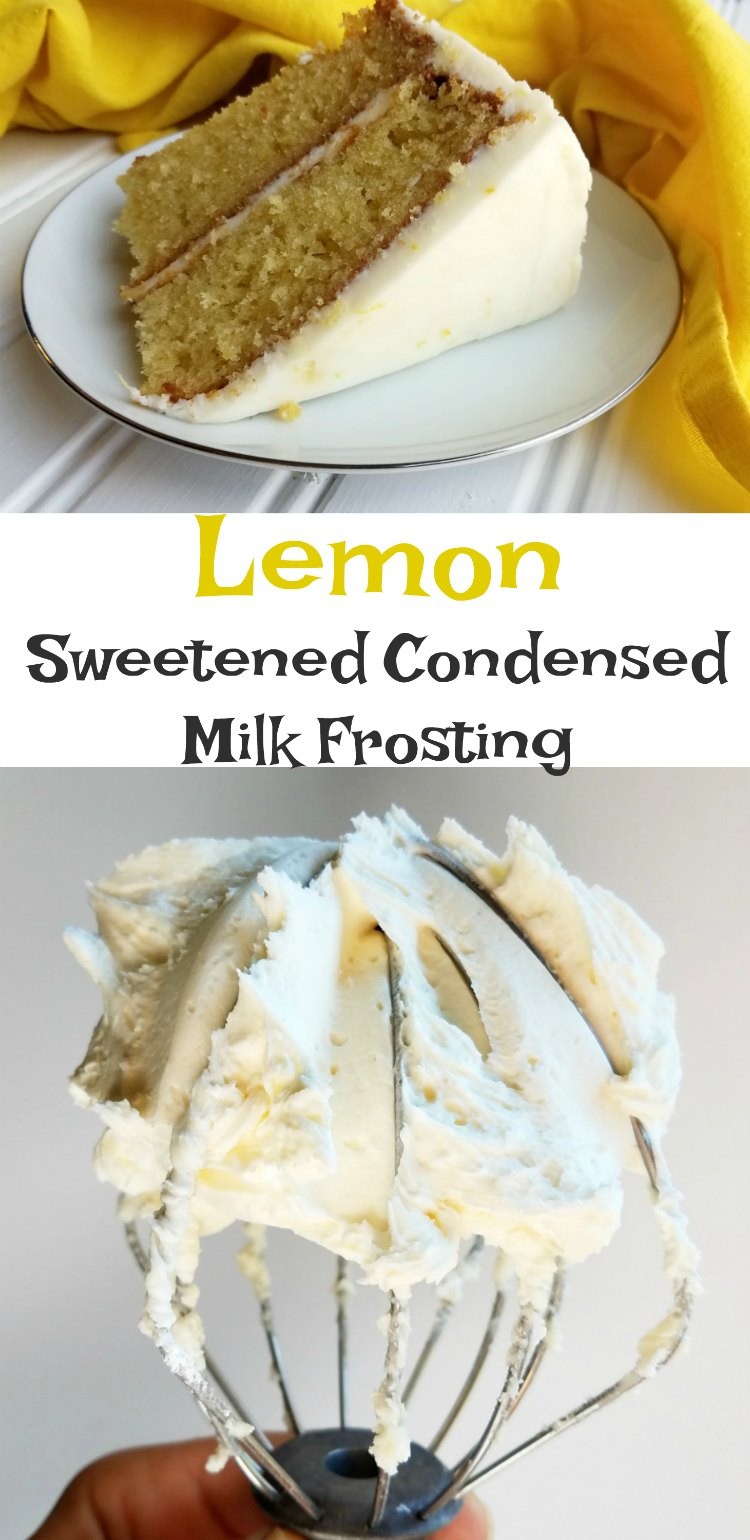 Best Nine 2017 Generator >> Cooking With Carlee: Lemon Sweetened Condensed Milk Buttercream