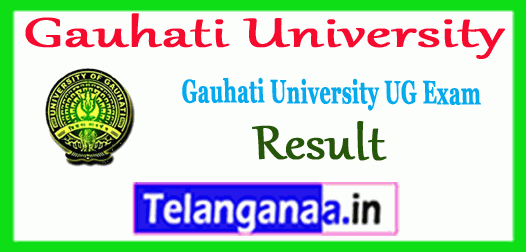 Gauhati University 1st 3rd 5th Semester BA B.Sc B.Com TDC Exam Result