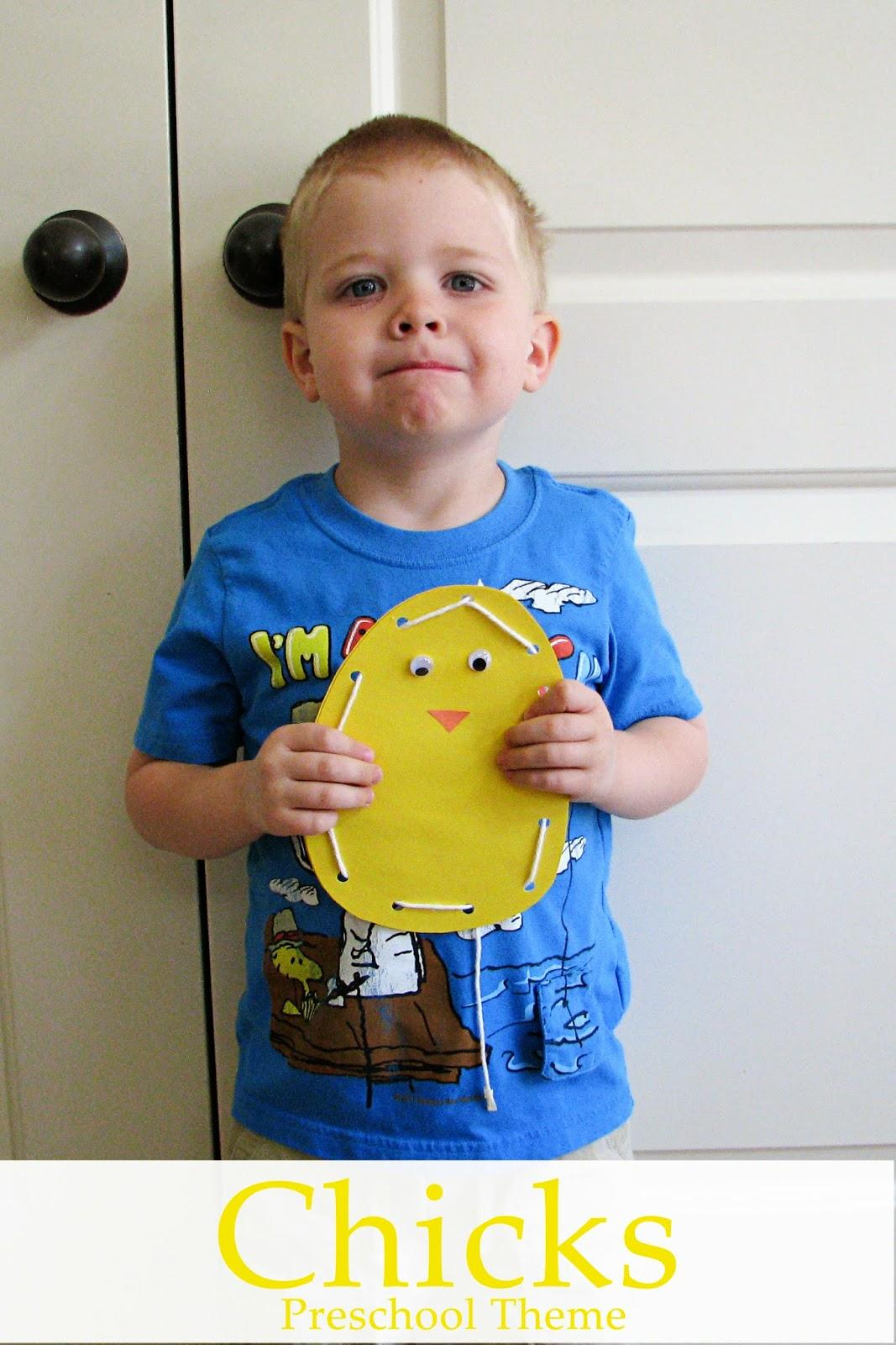 Mommy S Little Helper Baby Chicks Preschool Theme