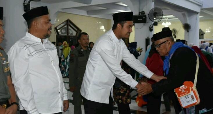 Bupati dan Ketua DPRD Sinjai Hadiri Pelepasan JCH