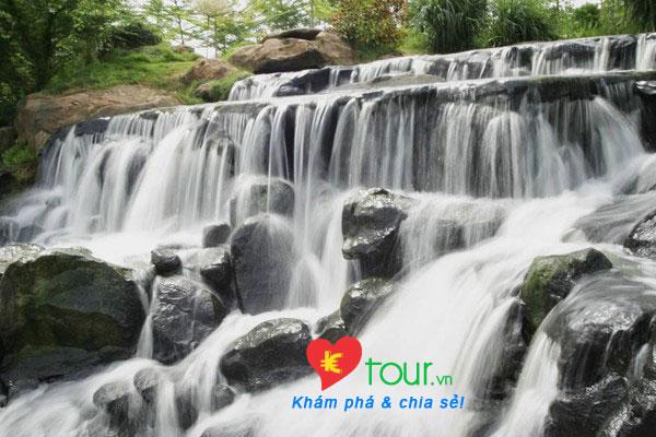 Các điểm du lịch nổi tiếng nhất ở Đồng Nai  - Thác Giang Điền