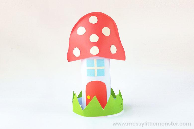 Mushroom Fairy Garden Houses