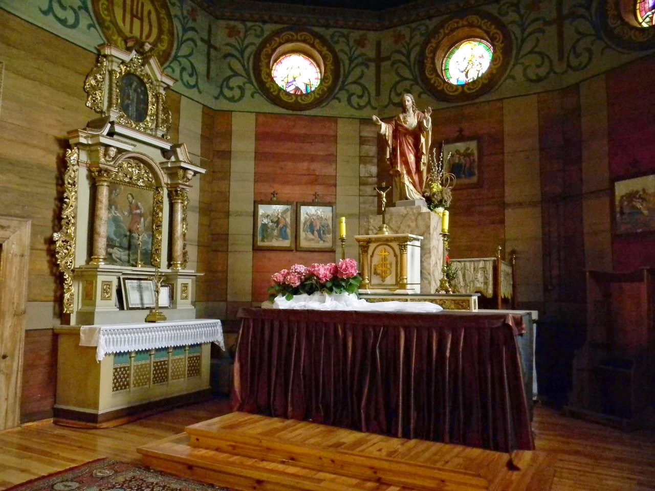 Bukowiec, drewniany kościół, nowotymyskie