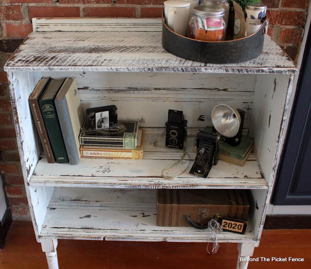 Farmhouse Shelf Makeover Take Two