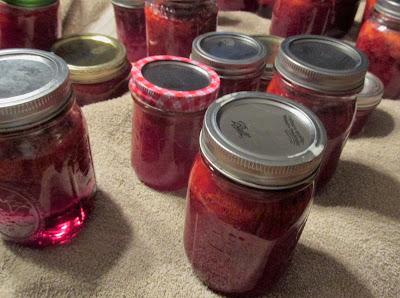Strawberry Jam-Vickie's Kitchen and Garden