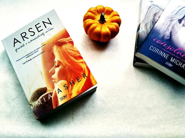 """Zanim przeczytasz tę książkę zastanów się trzy razy, czyli recenzja mocnej powieści  Mii Asher pt.""""Arsen"""""""