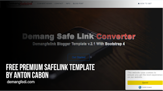 Template Safelink Blogger Free Premium By Anton Cabon