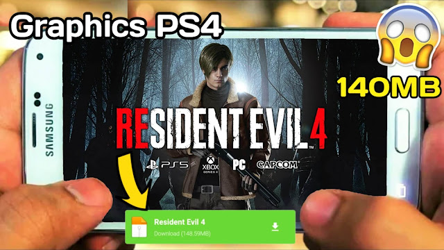 How To Download Resident Evil 4 Android | Download Resident Evil 4 High Graphics