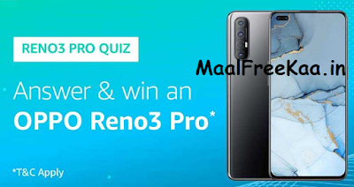 Reno 3 Pro Quiz