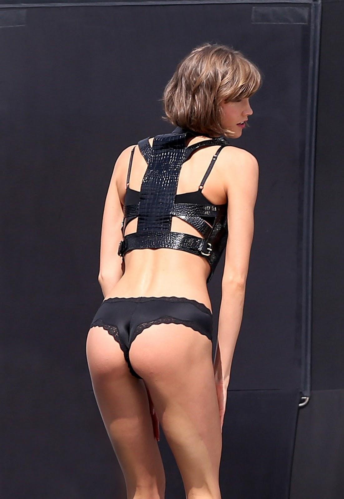 Karlie Kloss - Victoria's Secret Photoshoot Candids in Miami ~ R2D3 Celebscon