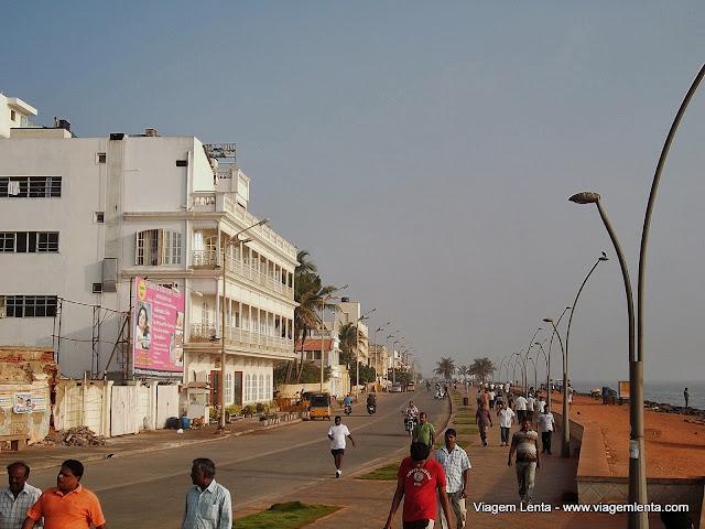 """Praia"" de Pondcherry"