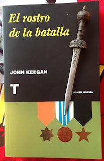 Portada del libro El rostro de la batalla, de John Keegan