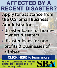 http://www.sba.gov/category/navigation-structure/loans-grants/small-business-loans/disaster-loans?utm_source= NY 14567SBDC&utm_medium=banner4&utm_campaign=disaster