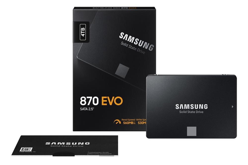 성능과 내구성 업그레이드, 소비자용 SSD '870 EVO' 출시