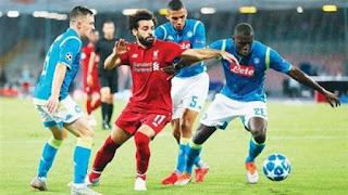 موعد مباراة ليفربول ونابولي الثلاثاء 17-09-2019 ضمن دوري أبطال أوروبا