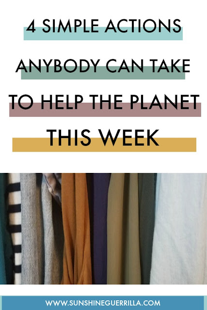 4 Simple Actions to Take to Help the Planet this Summer