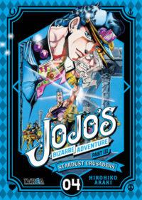 JOJO'S BIZARRE ADVENTURE Stardust Crusaders #4