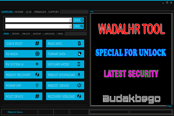 Wadalhr Tool V1.4 Special For Unlock Samsung Latest Security