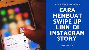 Cara Swipe Up Instagram