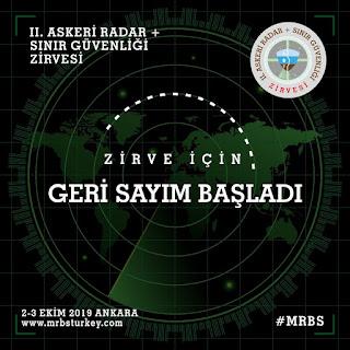 II.Uluslararası Askeri Radar ve Sınır Güvenliği Zirvesi 2 Ekim'de Kapılarını Açmaya Hazırlanıyor