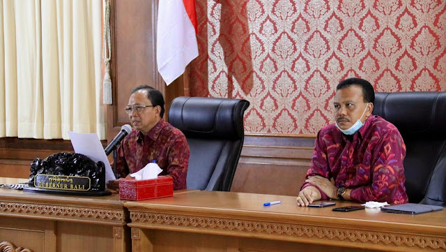 Dalam Rakor Tingkat Mentri, Secara Indikator Kesehatan Bali Sudah Baik
