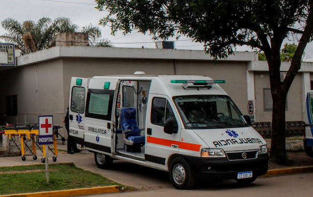 Ambulancia Hospital Municipal Monte Maíz