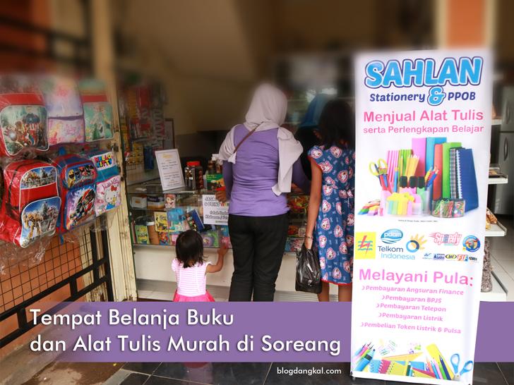 Tempat Belanja Buku dan Alat Tulis Murah di Soreang