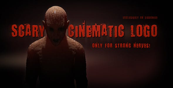 Videohive Scary Cinematic Logo Reveal 6771914