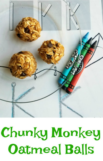 These delicious little balls are full of peanut butter, oatmeal, banana and honey! They are the perfect snack for kids and grown ups alike.  Plus they are are a great new way to use some of those ripe bananas!