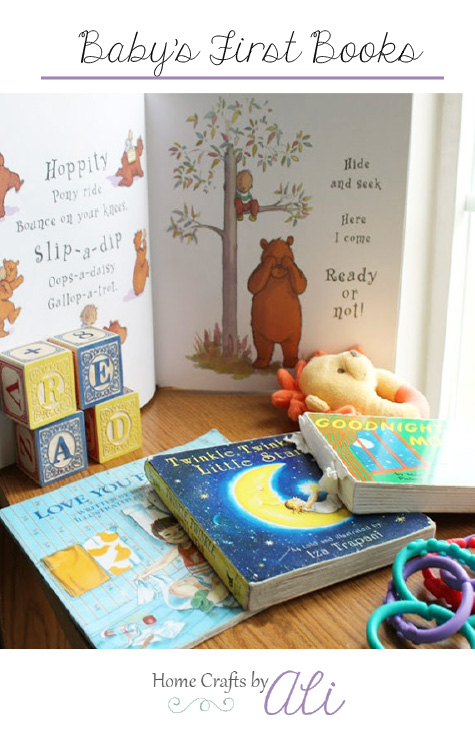 First books that baby will love