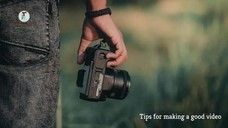نصائح حول -- إنشاء فيديو جيد