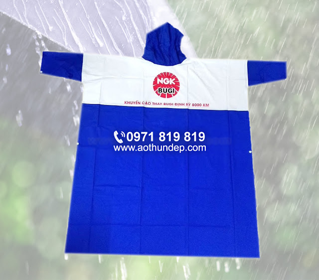 in áo mưa quảng cáo, xưởng sản xuất áo mưa giá rẻ