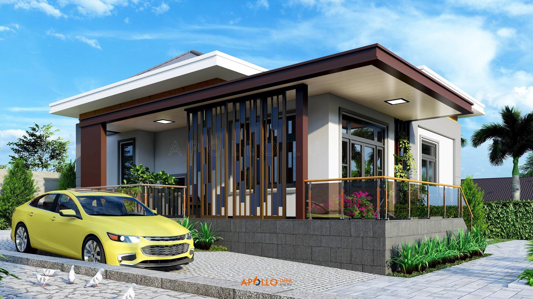 Thiết kế kiến trúc nhà vườn 500m2 Việt Yên - Bắc Giang