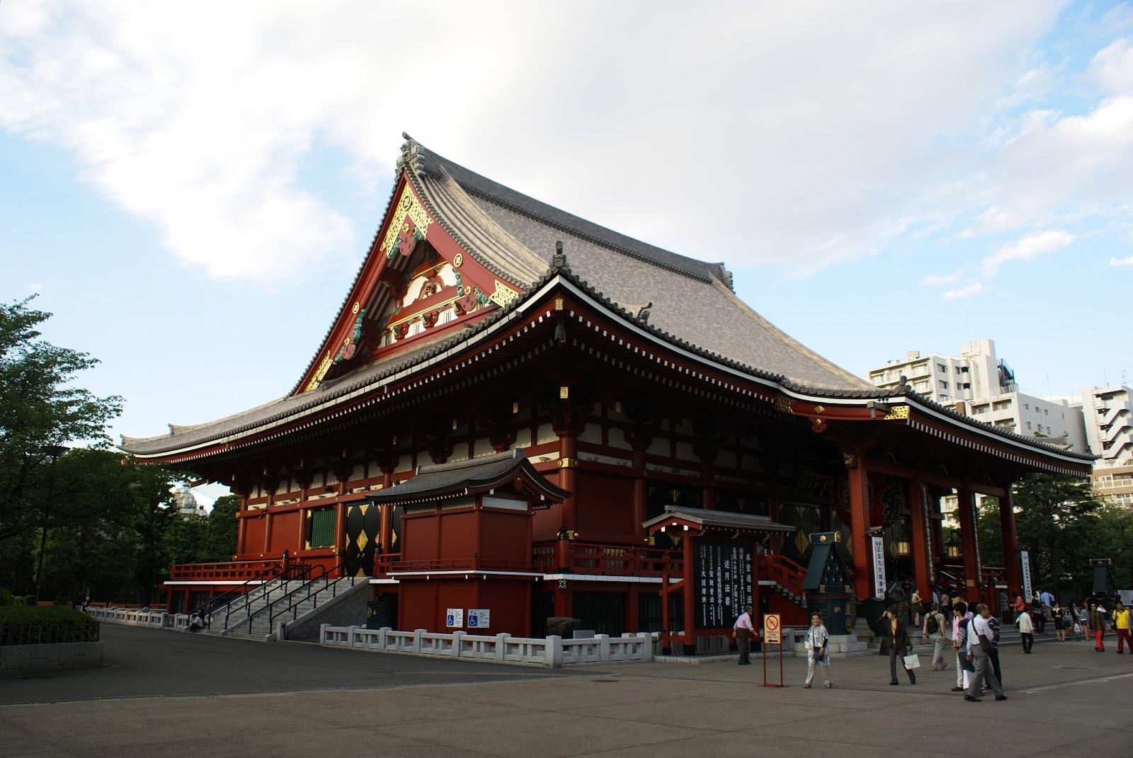 asakusa senso-ji tokyo japan