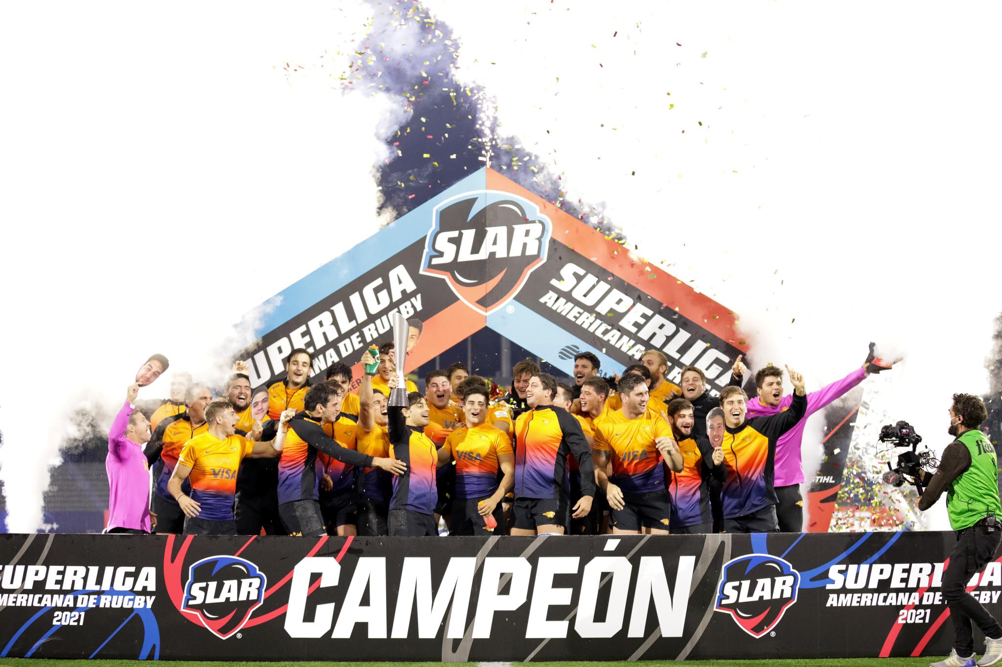 Jaguares XV campeones de la Superliga Americana de Rugby